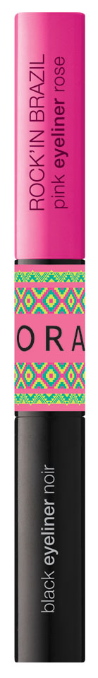 Sephora - Diva Carioca - Rock'In Brazil -Eyeliner Pink Black  LD