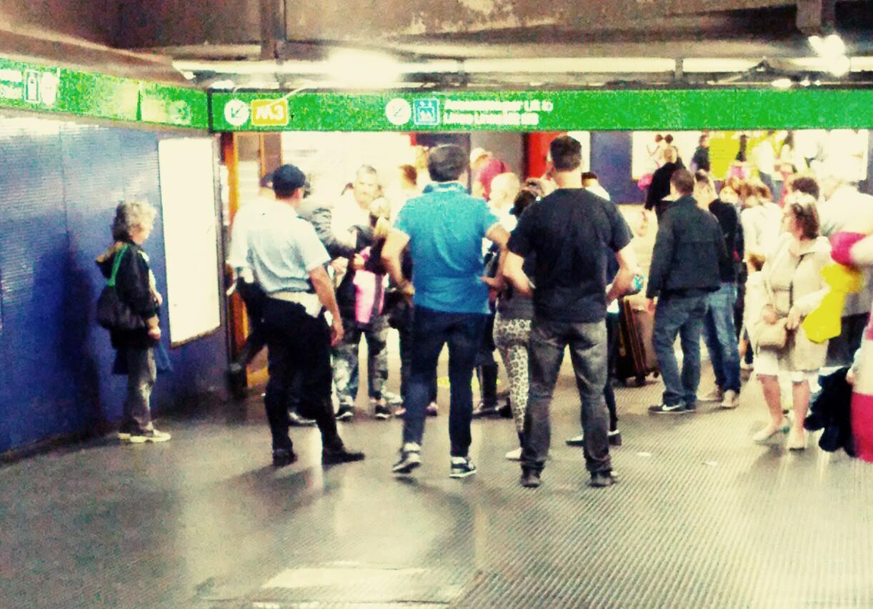 Nascere in metropolitana oggi …