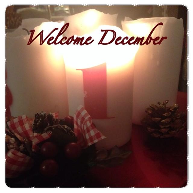 Hello December …