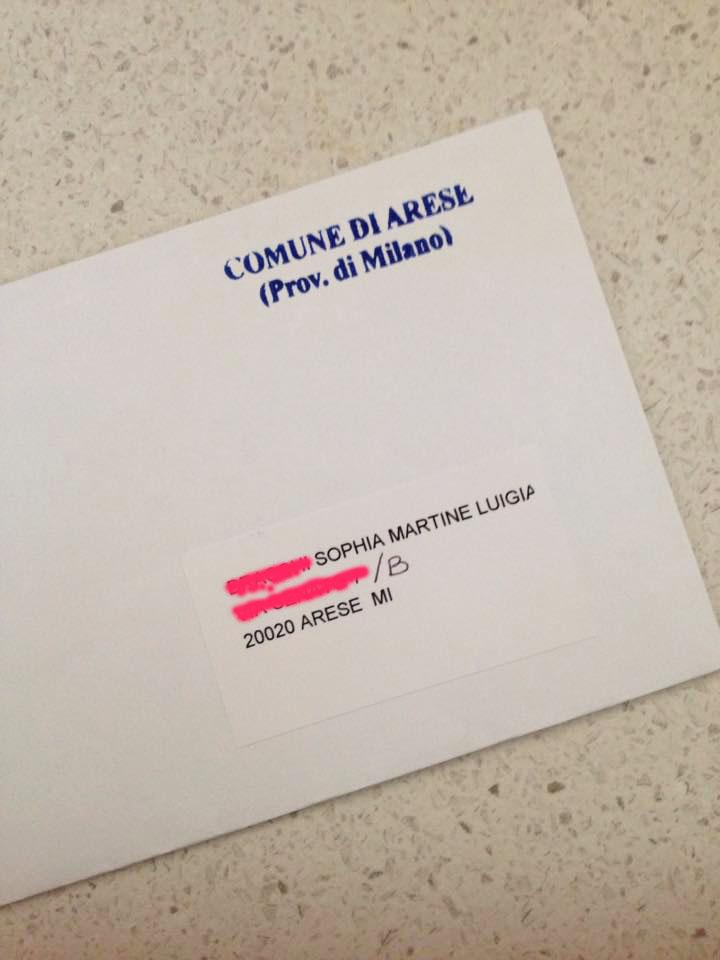 Non aprite quella busta!
