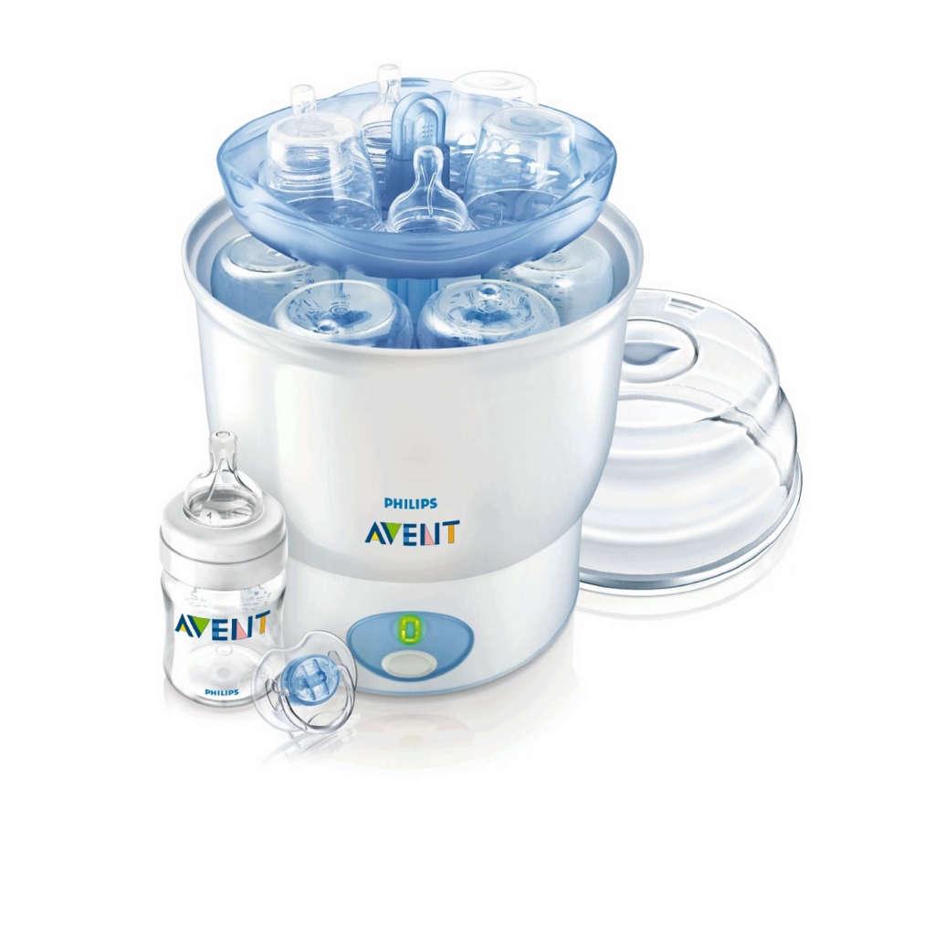 sterilizzatore philips avent per sterilizzare fino a 6 biberon