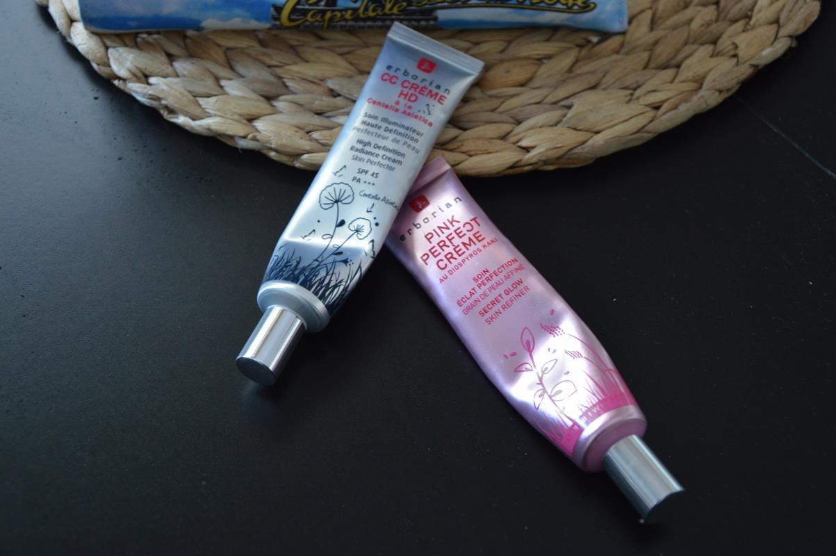 Erborian Pink Perfect Crème e CC Crème HD