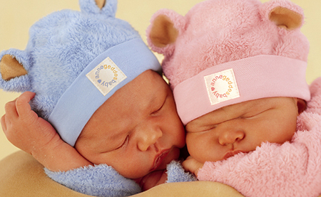 rosa per le femmine, azzurro per i maschi: questione di stereotipi di genere