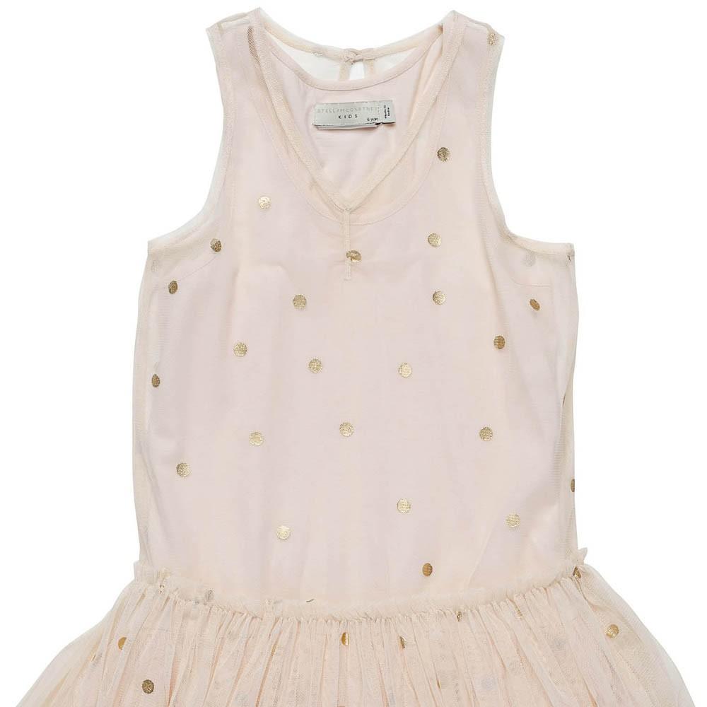 vestito-tulle-pois-campana-rosa-chiaro stella mccartney