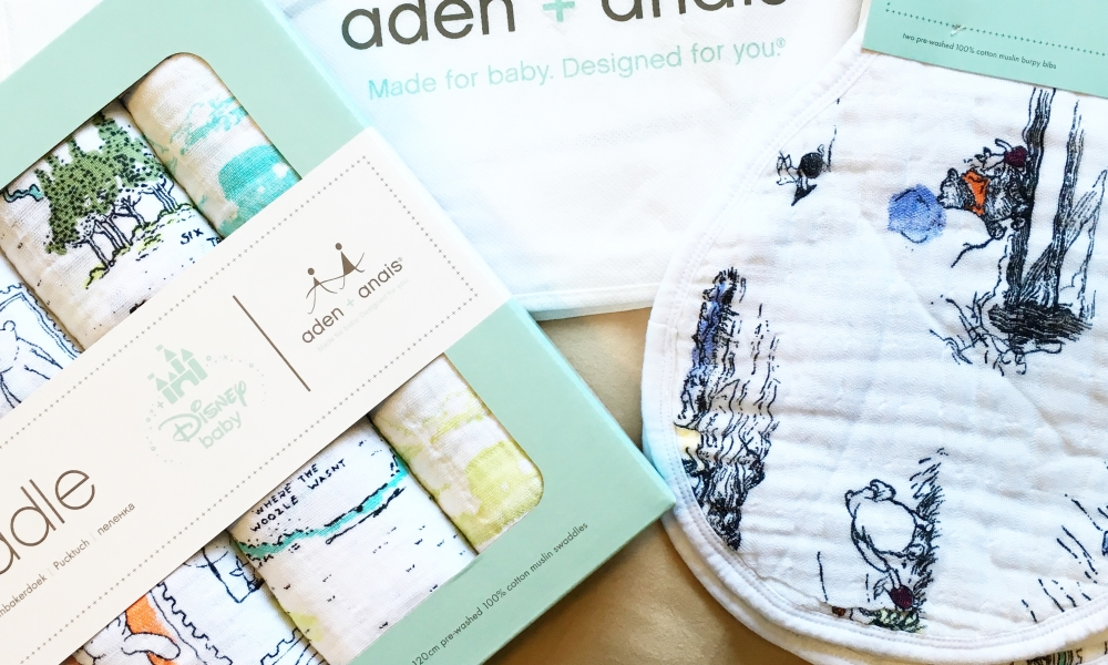 Baby & kids must-have: aden + anais x Disney