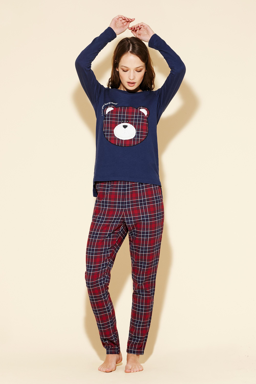 pigiami natalizi abbinati per tutta la famiglia mamma papà ...
