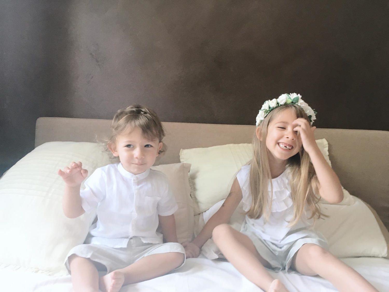 Vestiti in lino per bambini: come e quando indossarli