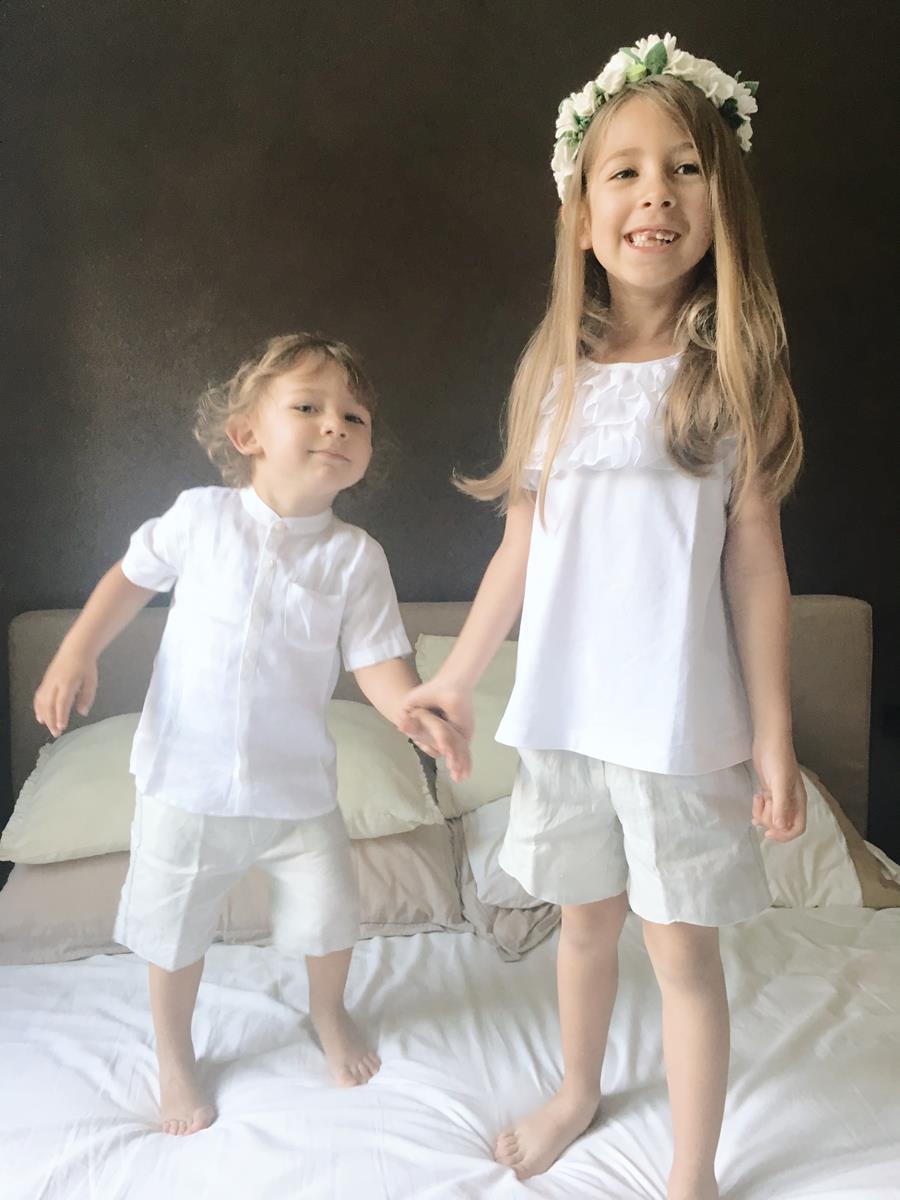 vestiti in lino bambini
