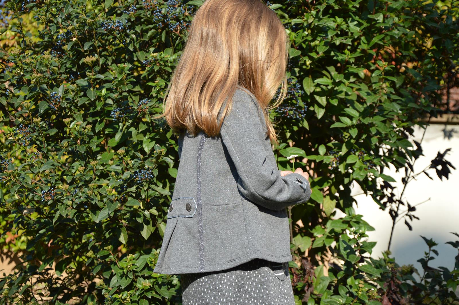 giacca felpata bambina brums