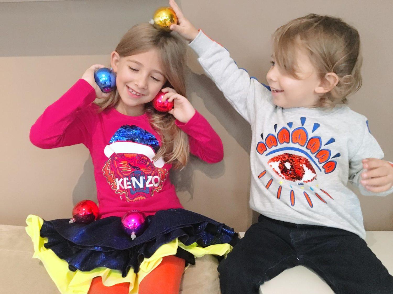 Un Natale speciale per tre motivi (quattro se contiamo gli outfit Kenzo Kids)