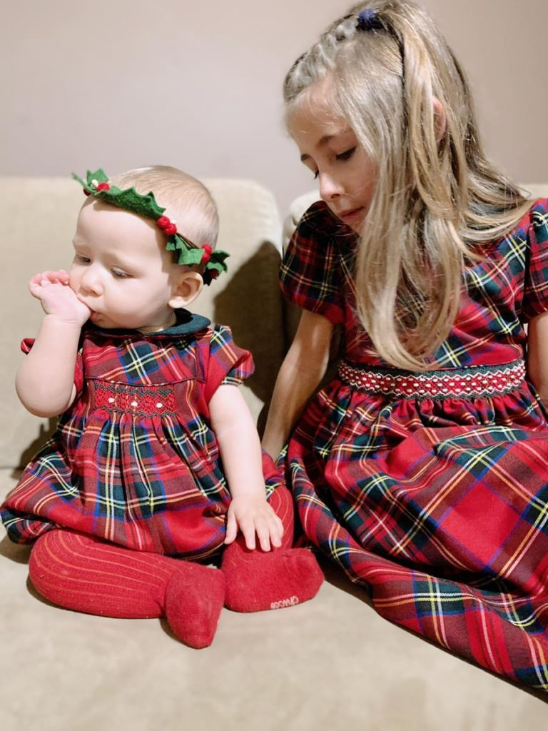 vestito-scozzese-natale-bambini